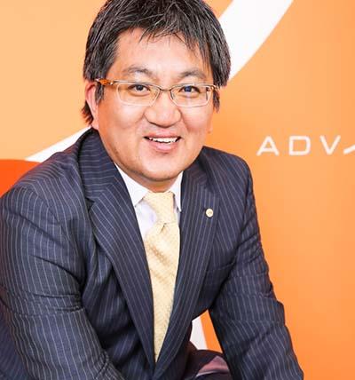 株式会社アドヴァンテージ 代表取締役社長 中野 尚範